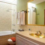Fernando Botero bathroom